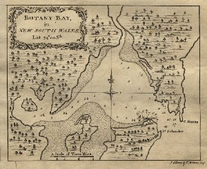 Map of Botany Bay
